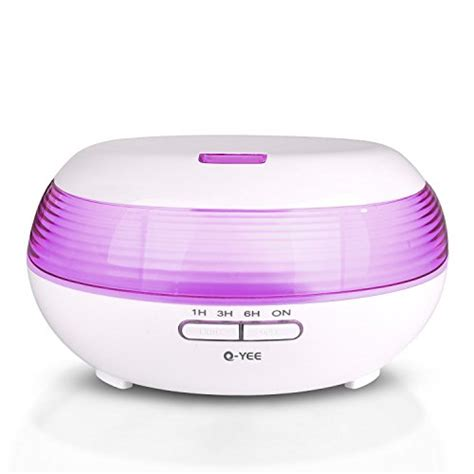 H02 Essential Aromatherapy Diffuser 7 Colors Led 300ml 300ml aromatherapy essential diffuser q yee cool mist