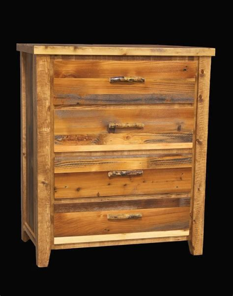 Log Dressers For Sale by Western 4 Drawer Dresser Country Rustic Cabin Log Wood