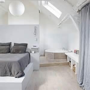 Charmant Salle De Bain Dans Chambre Parentale #4: baignoire_d_angle_dans_la_chambre.jpg