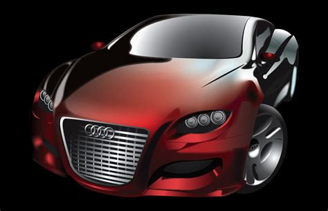 Audi Locus by Audi Locus Concept Car Vector By Junon001 On Deviantart