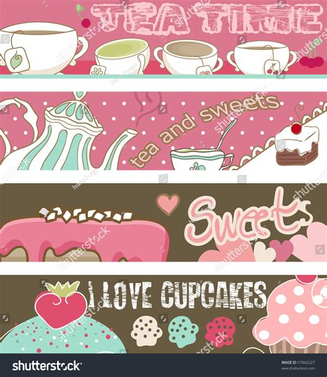 cupcake banner template 28 images vintage template