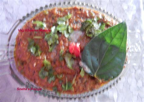 Ijoijoan Saladova Bean Vegs Salad Size Medium veg kheema masala sneha s recipe