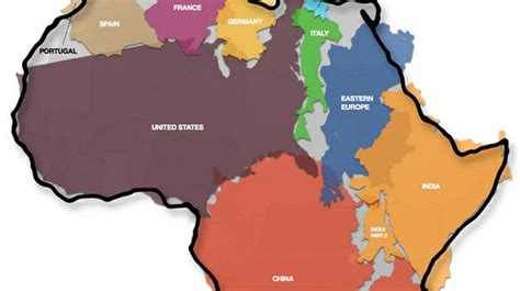 how many u s cities can you fit inside tokyo metrocosm how big is africa this illustration shows how many