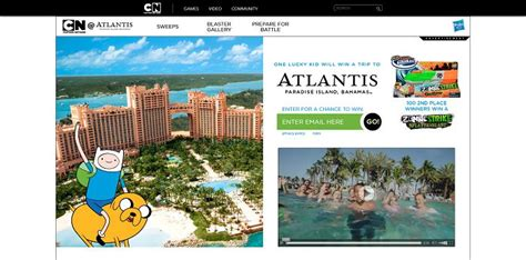Cartoon Network Sweepstakes - cartoon network atlantis sweepstakes cartoonnetwork com win