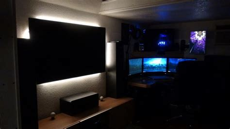 ultimate gaming bedroom gaming setup gaming room ideas pinterest stove