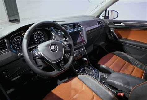 volkswagen tiguan 2018 interior the all new 2018 volkswagen tiguan