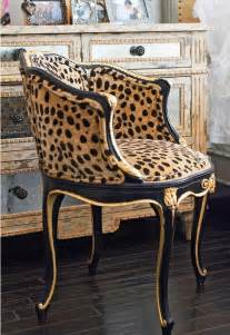 Vanity Chair Animal Print Faboo Leopard Print Vanity Chair Rooms