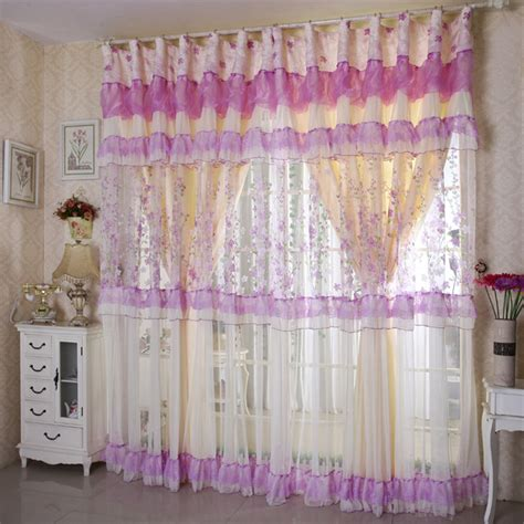 lavender lace curtains popular pink purple curtains buy cheap pink purple