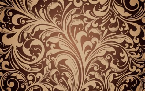 floral pattern vector corel floral ornament vector background vector free download