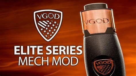 Vgod Elite Mech Mod Authentic Elite Series Mechanical Mod Authentic vgod elite series mech mod look