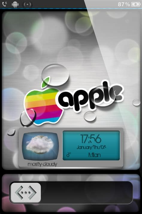 Themed Ls by Ls Irainbowdrops Iphone 4s Theme Abstract Iphone Themes