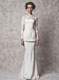 solemnisation dress baju kurung moden the ideas