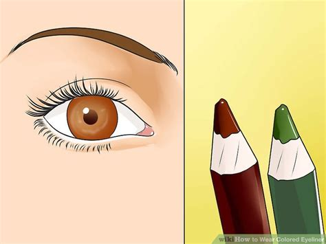 how to wear colored eyeliner how to wear colored eyeliner 8 steps with pictures