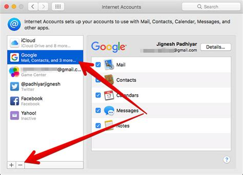 how to delete yahoo email how to delete remove email account from mac mail app
