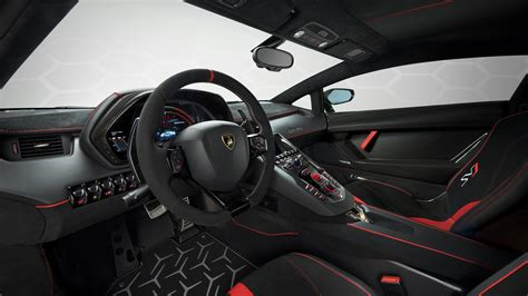 lamborghini aventador svj interior wallpaper hd car wallpapers id 11021