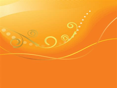 abstract orange lines powerpoint templates abstract