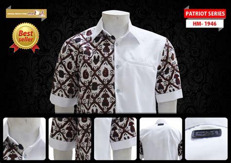 Batik Asimetris Series best seller patriot series kemeja neale dengan batik sidoluhur
