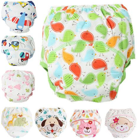 reusable diapers 1pcs baby cotton baby reusable diapers cloth washable