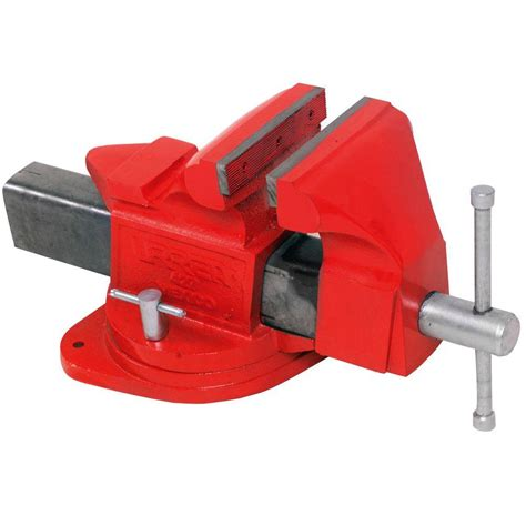bench vice specification urrea 4 in bench vise 424 the home depot