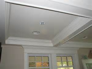 Tray Ceiling Coffered Vaulted Tray And Moulded Ceilings