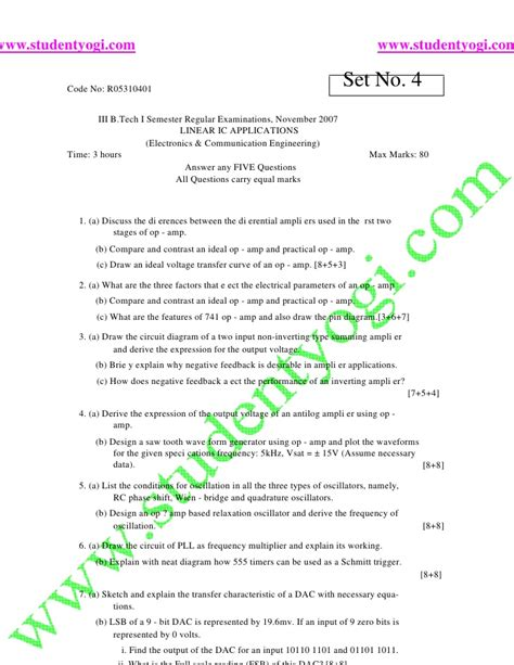 linear integrated circuits question paper 2015 cheap write my essay design of linear integrated circuits essayhelp569 web fc2