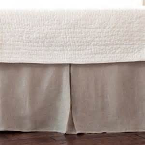 bed skirt linen pleated bedskirt rosenberryrooms