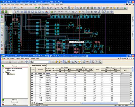 pcb layout software cadence orcad pcb designer file extensions