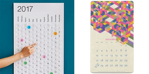 Cool Calendars Creative Calendars And Planners For 2017 Cool