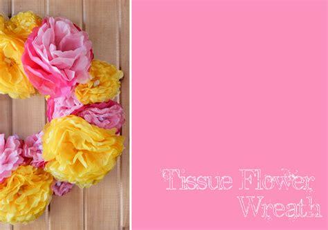 tissue paper flower wreath tutorial make a diy laptop skin tutorial