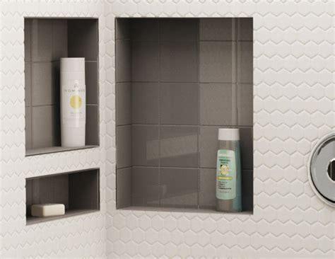 Redi Tile Shower Niche by Shower Pans Bases Shelves Tile Redi