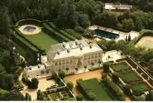 Spelling Manor Floor Plan beverly hillbillies mansion aerial view around 2005