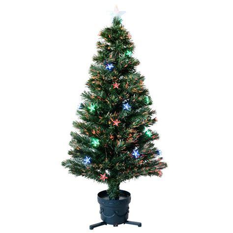 4ft fibre optic tree 4ft 120cm beautiful green fibre optic tree with