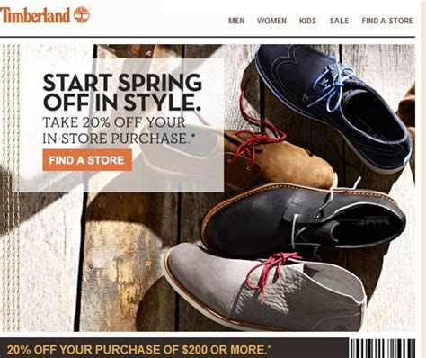 printable coupons for timberland outlet timberland printable coupons september 2015 printable