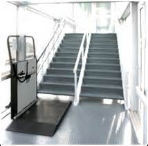 Handicap Stair Lifts by Wheelchair Stair Lifts