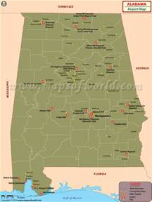 map of usa showing alabama airports in alabama alabama airports map