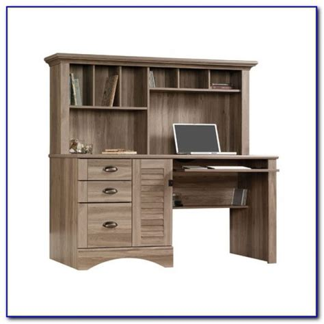 sauder harbor desk with hutch sauder harbor view computer desk with hutch ii desk