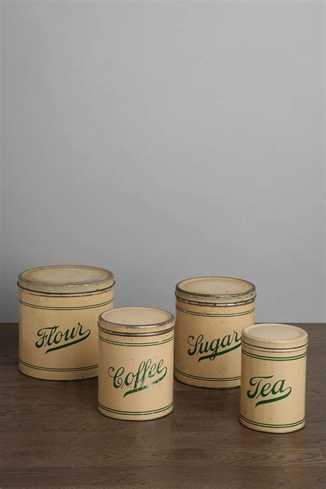 vintage kitchen canister set 17 best images about vintage kitchen canisters on