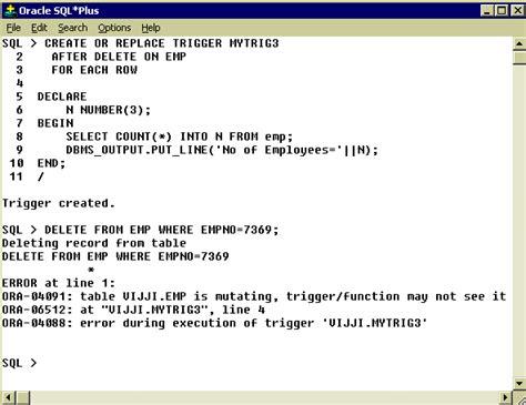Tutorial Oracle Trigger | pl sql trigger insert update delete passionerogon