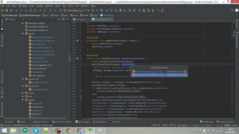 Android Layout V14 | npe on textview in android studio stack overflow