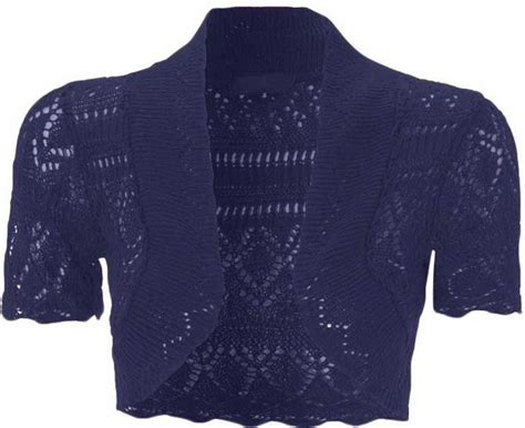 Cardigan Anak Sweater Kid Bolero 2 kid s crochet open sleeve knitted bolero cropped cardigan shrug age 2 14 ebay