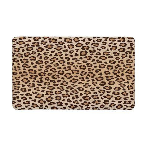 Leopard Doormat by Leopard Animal Print Anti Slip Door Mat Home Decor Indoor