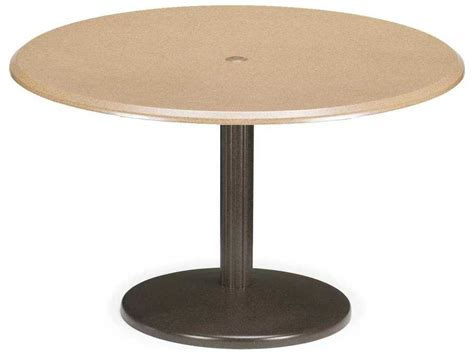 eon resin outdoor chat table patio accent tables at telescope casual werzalit top recycled plastic 42 round