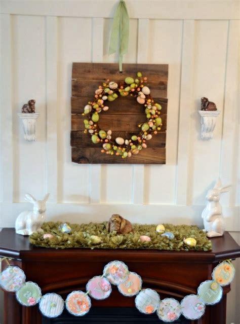 adorn home decor 32 stylish deco ideas for easter adorn the mantel