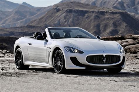 Maserati Convertibles by 2017 Maserati Granturismo Convertible Pricing For Sale