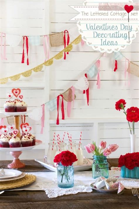 Day Decoration Ideas by 31 Creative Ideas For Valentines Day Decorations Tip Junkie