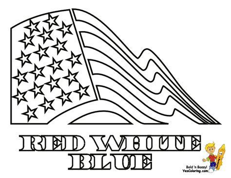 patriotic ribbon coloring page stand tall july 4th coloring pages july 4th free