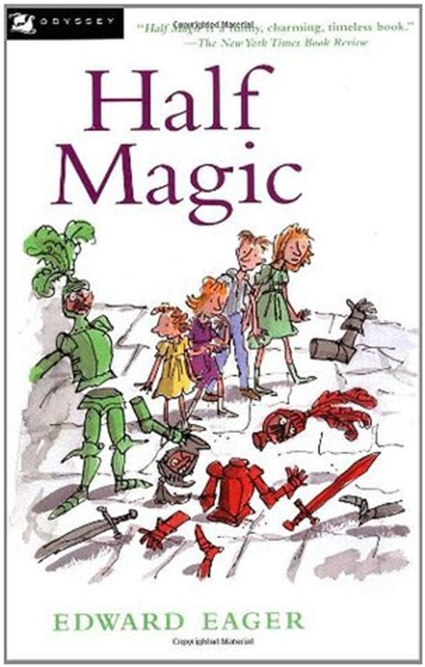 one half from the east books half magic tales of magic 1 by edward eager reviews