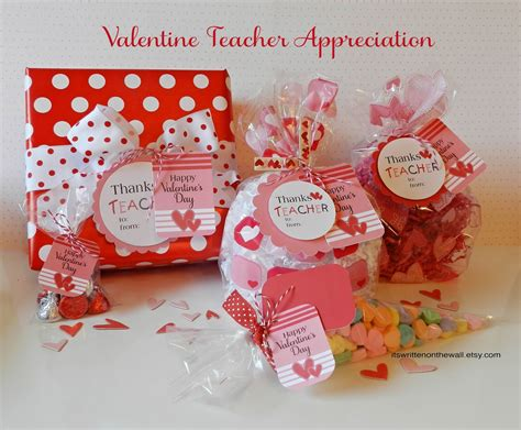 valentines gift for teachers it s written on the wall s day gift tags for