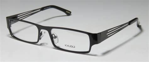 kyusu 1104 black eyeglasses 29 shop at eyeweardock