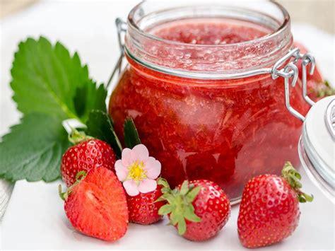strawberry jam recipe dishmaps